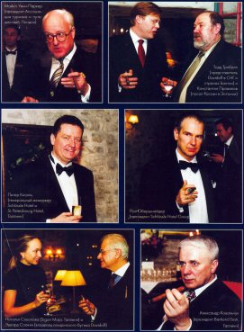 Hecho A Mano magazine - Schlossle Hotel Cigar Club Launch, May 2004